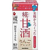 マルコメ プラス糀 糀甘酒LL りんご 125ml×18本