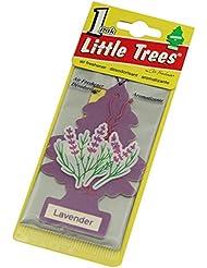 Little Trees 吊下げタイプ エアーフレッシュナー ラベンダー 5枚セット(5P)