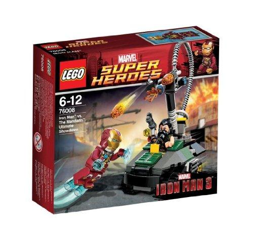 レゴ スーパーヒーローズ アイアンマン vs. マンダリン:究極のショーダウン 76008