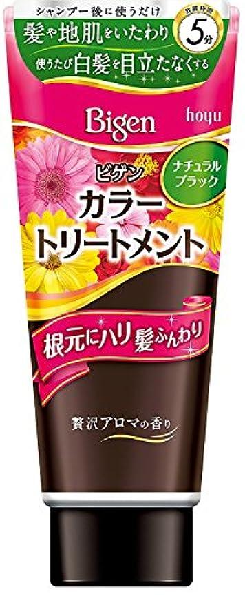 未就学興奮する化粧ホーユー ビゲン カラートリートメントNBK(ナチュラルブラック)×3個
