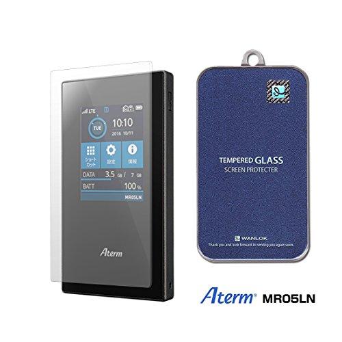 WANLOK 安心安全 日本メーカー Aterm MR05LN モバイルルーター 専用 0.2mm ガラスフィルム 実機確認済 保護フィルム 強化ガラス 高透過率 指紋防止 気泡レス 飛散防止 国内正規流通品 MR05LN