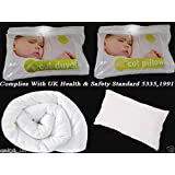 JUNIOR ANTI-ALLERGY COT BED DUVET QUILTS, PILLOWS BABY NURSERY TODDLERS 4.5 Tog Quilt With Pillow by NIGHTS
