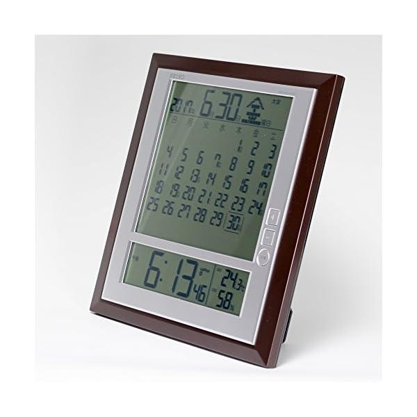 セイコー クロック 掛け時計 置き時計 兼用 ...の紹介画像3