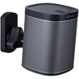 Mount-It! SONOS Speaker Mount Wall Bracket for SONOS PLAY:1 and SONOS PLAY:3 Tilt/Swivel Adjustable, Black 22 Lbs Capacity MI-SP08 (Not Compatible with SONOS ONE)
