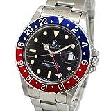 [ロレックス]ROLEX GMTマスター 青×赤ベゼル Ref. 16750 R番 1987年製 オートマチック/自動巻き ブラック/黒文字盤 メンズ 中古