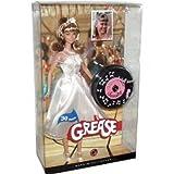 バービー人形Barbie Pink Label Collector Collection 30 Years Anniversary Grease 12 Inch Doll - Sandy with White Sleeveless Dress, Accessories, Doll Stand and Certificate of Authenticity [並行輸入品]