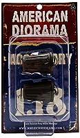 1/18 American Diorama Accessory - Trash Can 2個入り ゴミ箱 ジオラマ 模型