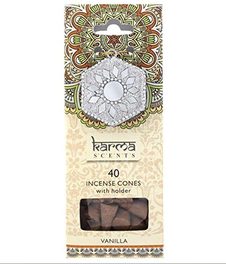 忌み嫌う圧倒的回転Karma Vanilla Incense Cones Gift Set