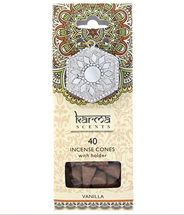 傷跡オープニングダムKarma Vanilla Incense Cones Gift Set