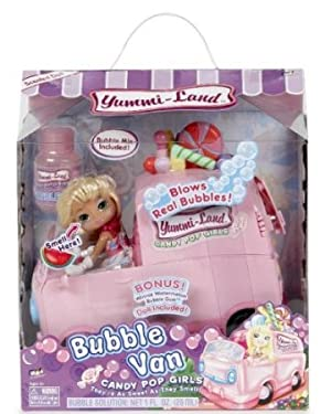 Candy Pop Bubble Van w/ Winnie Watermelon Bubble Gum ドール 人形 フィギュア(並行輸入)