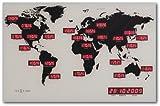 NEXTIME 掛け時計 World Time Digit 2897