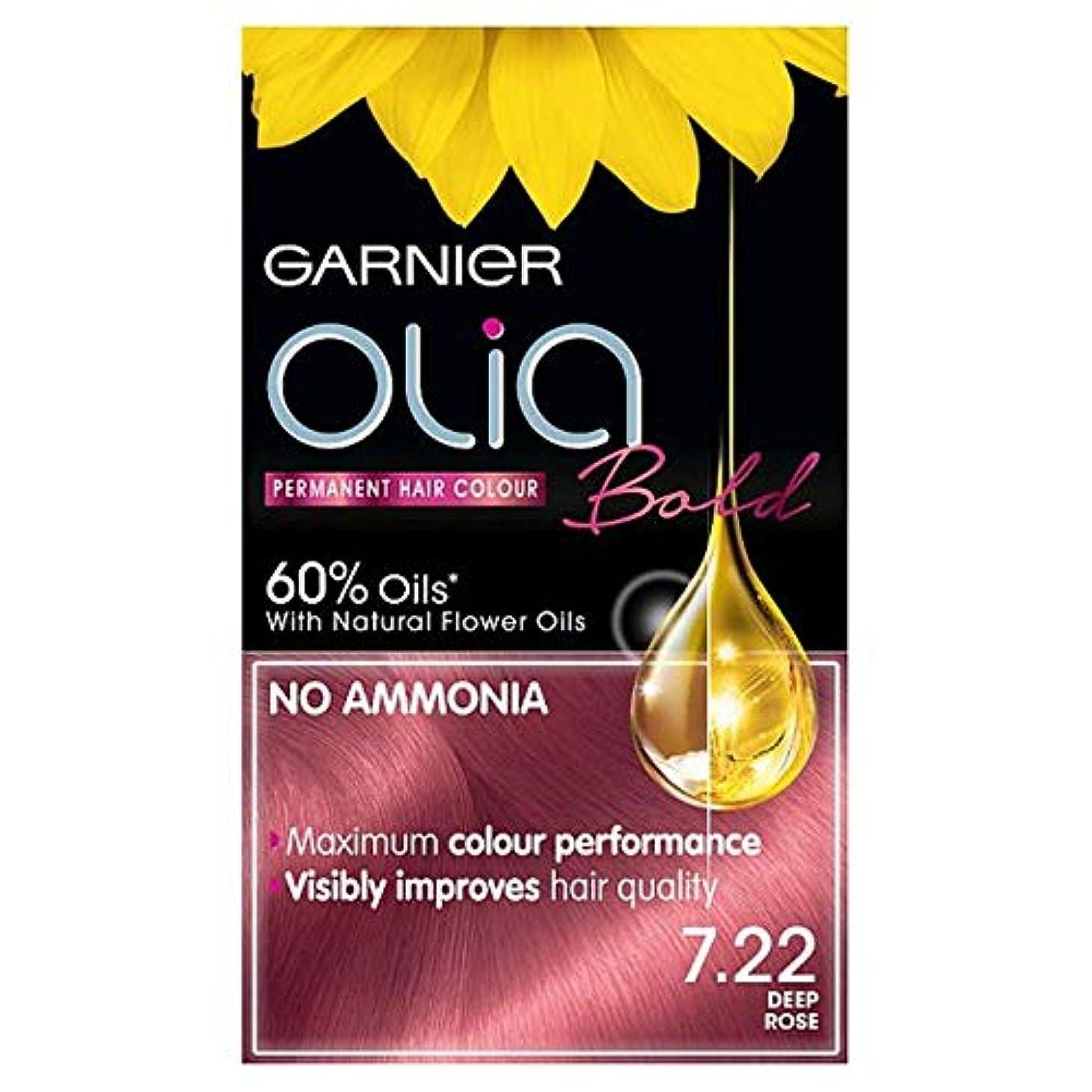 浪費道徳一般[Garnier ] ガルニエOlia大胆な深いは永久染毛剤をバラ - Garnier Olia Bold Deep Rose Permanent Hair Dye [並行輸入品]