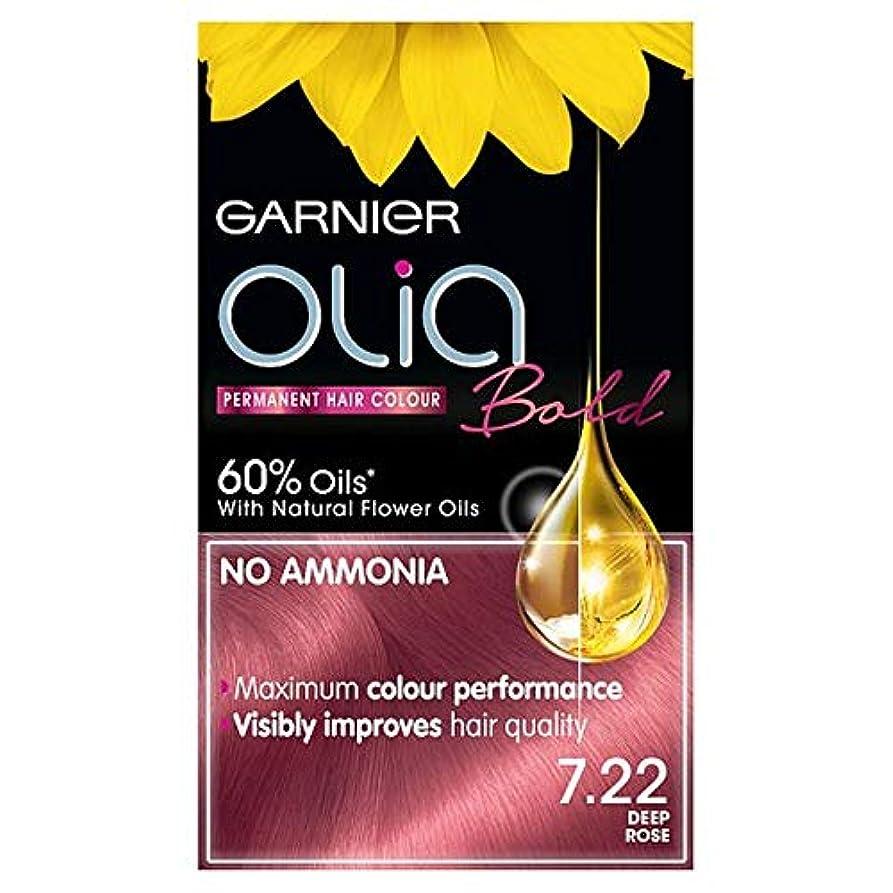 特徴伝導率留め金[Garnier ] ガルニエOlia大胆な深いは永久染毛剤をバラ - Garnier Olia Bold Deep Rose Permanent Hair Dye [並行輸入品]