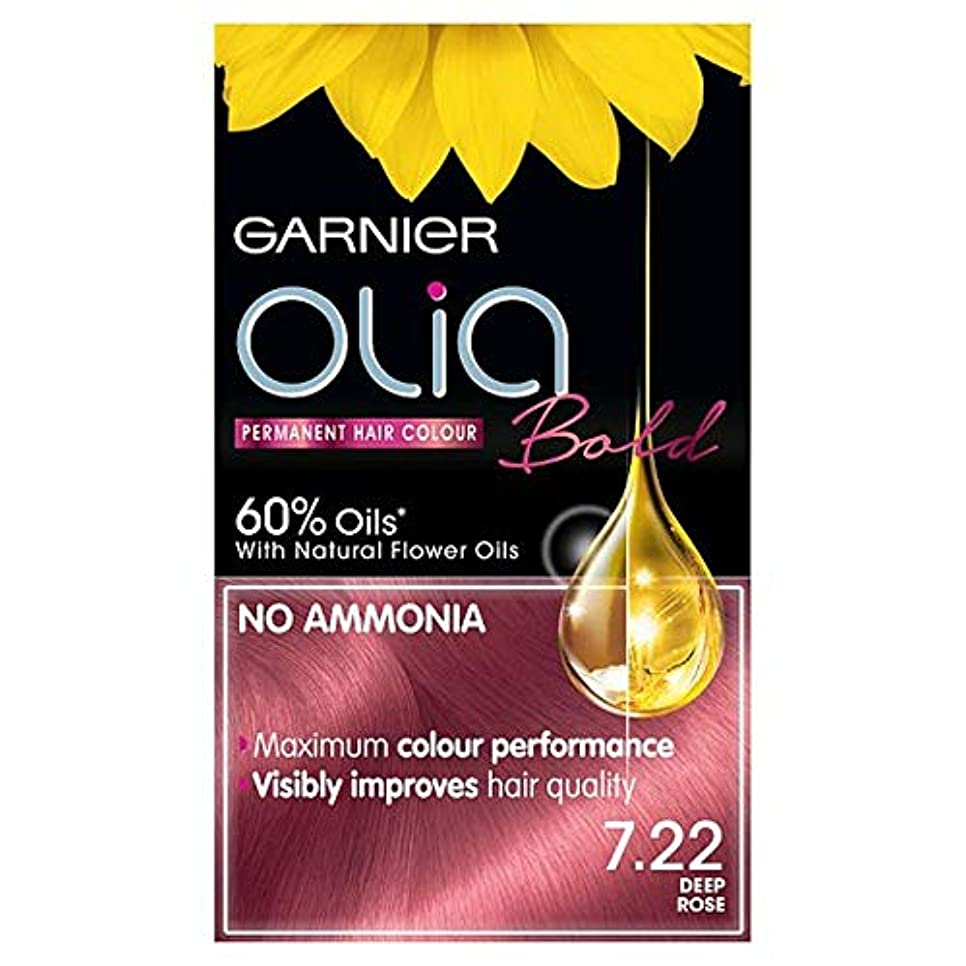 異形かび臭いこっそり[Garnier ] ガルニエOlia大胆な深いは永久染毛剤をバラ - Garnier Olia Bold Deep Rose Permanent Hair Dye [並行輸入品]