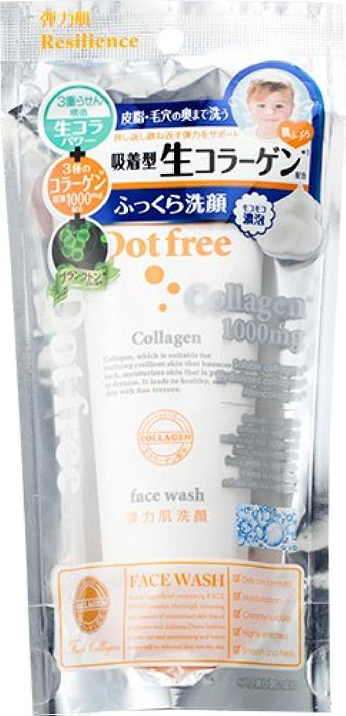 部分トリクル七時半ドットフリー リシリエンス 洗顔フォーム