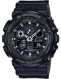 カシオ Gショック G-SHOCK クオーツ メンズ 腕時計 GA-100L-1A ブラック [並行輸入品]