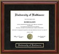 ボルチモアの大学( UB )卒業証書フレーム md-ub-91-maho