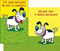 Stockwell Greetings グリーティングカード バースデー 犬