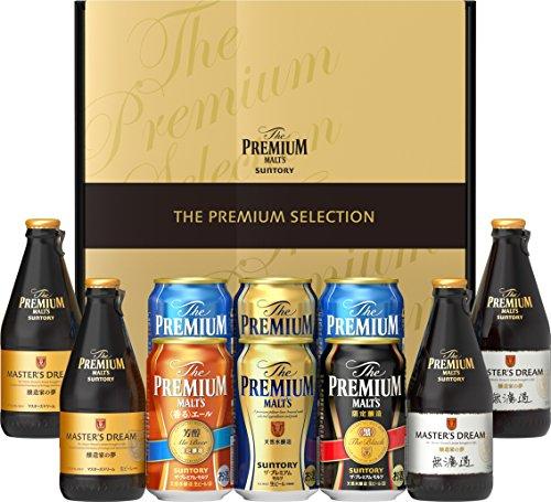 サントリー ザ・プレミアム・モルツ 特選6種飲み比べプレミアムビールギフトセット BMPW3N