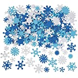 400 Foam Snowflakes for Craft Projects by Fun Express