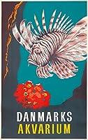 Dr - akvariumヴィンテージポスター(アーティスト:匿名)デンマークC。1940 16 x 24 Signed Art Print LANT-72627-709
