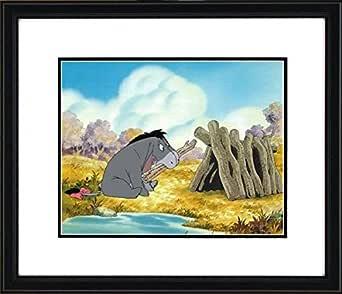 ディズニー クマのプーさん イーヨー 原画 セル画 Disney サイズ:50cm×55cm 鑑定書あり
