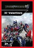 Paper Magic 32CT Showcase Transformers 4 Kids Classroom Valentine Exchange Cards