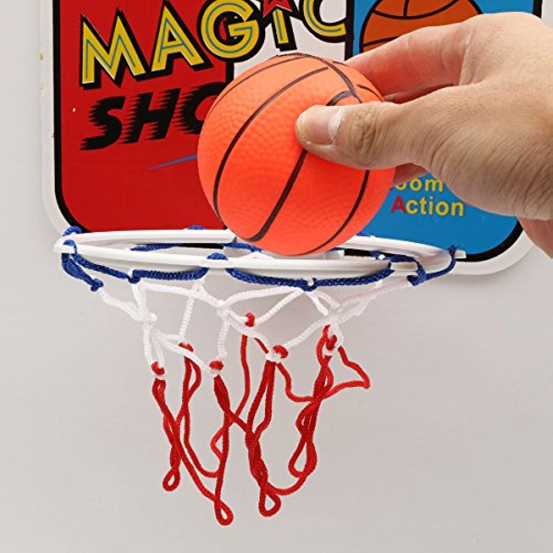 cynken子子供スポーツMini BackboardフープNet Set withバスケットボールインドアアウトドアおもちゃ