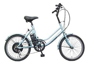 aero assistant(エアロアシスタント) 電動自転車 ノーパンクタイヤ着用 TB206W-STD ライトブルー 20 インチ