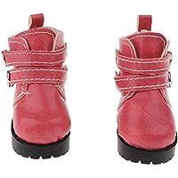 SONONIA 1/3 1/4 BJD SD LUT ドール 人形 足首 靴 ペア マーチンブーツ 飾り アクセサリー 全3色 - ピンク