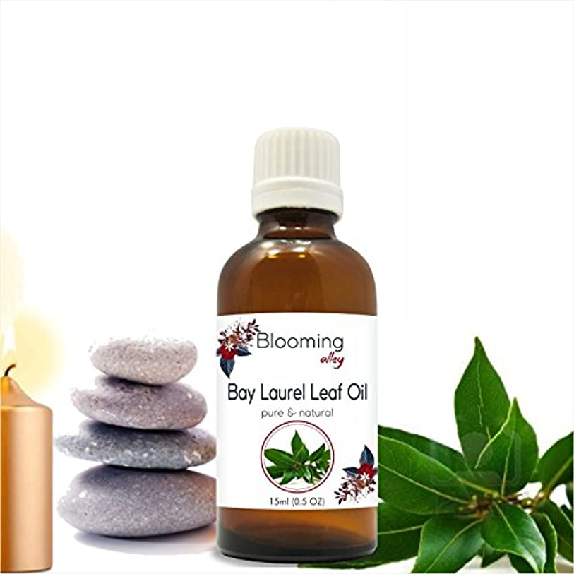 化石本質的ではないテープBay Laurel Leaf Oil (Laurus Nobilis) Essential Oil 15 ml or .50 Fl Oz by Blooming Alley