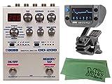 BOSS ボス - エフェクター/デジタルディレイ DD-200 + KORG AW-OTG-POLY + マークスオリジナルクロス セット
