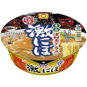 マルちゃん 日本旨いもん青森津軽煮干拉麺 激にぼ 110g×12個