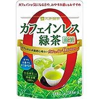 三井銘茶 カフェインレス緑茶 煎茶 40g×3個