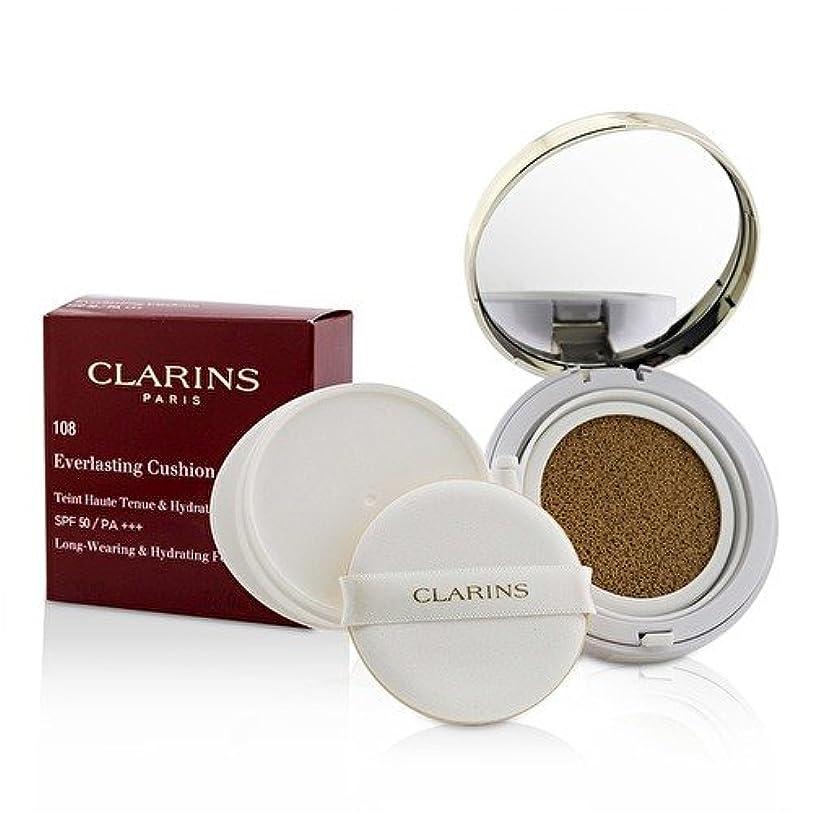 香水意図する領事館クラランス エヴァーラスティングクッションファンデーション SPF 50# 108 Sand