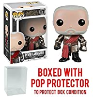 Funko POP 。Game of Thrones : Got – Tywin Lannister # 17 Vinyl Figure (バンドルwith Popボックスプロテクターケース)