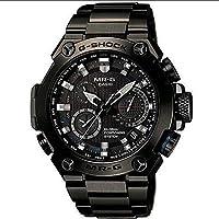 Casio Men 's mrg-g1000b-1a G - Shock mr-gアナログクォーツGPSハイブリッドWave Ceptorソーラー腕時計