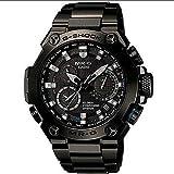 Casio Men 's mrg-g1000b-1?a G - Shock mr-gアナログクォーツGPSハイブリッドWave Ceptorソーラー腕時計