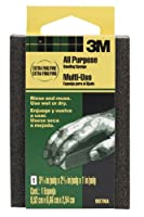 3M 907NA Small Area Sanding Sponge, 3.75 in by 2.625 in by 1 in, Extra Fine/Fine [並行輸入品]