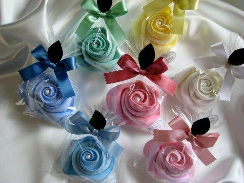 【プチギフト】 バラのプチタオル 今治タオル7種アソート 22×22 香りのフレグランスパール入り