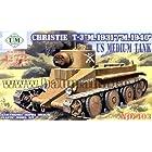 ユニモデル 1/72 #UU72403 米・クリスティー快速戦車T-3型