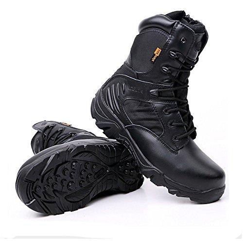 [해외]오토바이 부츠 등산화 오프로드 부츠 레이싱 신발 소 가죽 캐주얼 신발 방수 미끄럼 방지 내마모성/Bike boots mountaineering shoes off road boots racing shoes cowhide casual shoes waterproof anti-slip abrasion resistance