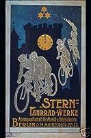 ホットスタッフエンタープライズ3638-12x18-VAスターン自転車ポスター