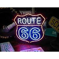 ネオンサイン ルート66 ROUTE 66 NEW ネオン管 ネオンライト 店舗照明 ガレージ アメリカン雑貨