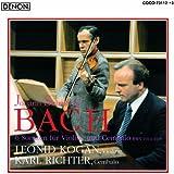 バッハ:ヴァイオリンとチェンバロのためのソナタ全集