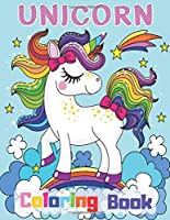 Unicorn Coloring Book: Cute Unicorns Drawings with 80 Pages to have Fun Time - for Kids