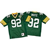 ReggieホワイトグリーンベイPackers Mitchell & Ness Authentic 1993グリーンNFLジャージ