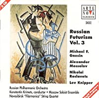 Russian Futurism Volume 3