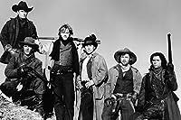 Charlie Sheen and Kiefer Sutherland and Emilio Estevez、ルー・ダイアモンド・フィリップス、ダーモット・マローニー、ケイシー・シーマツコin young guns Outlaw Portrait 18x 24ポスター