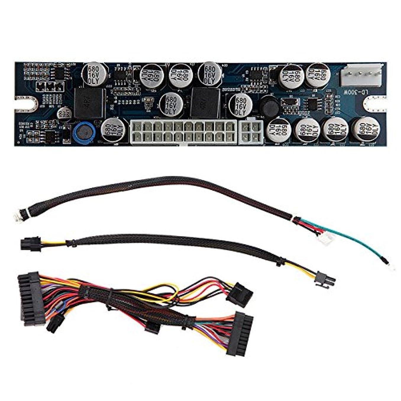 信号個人的に姿勢FidgetGear 新しい1PCS DC ATX 300W 24ピンATX電源モジュール12VハイパワーAR22